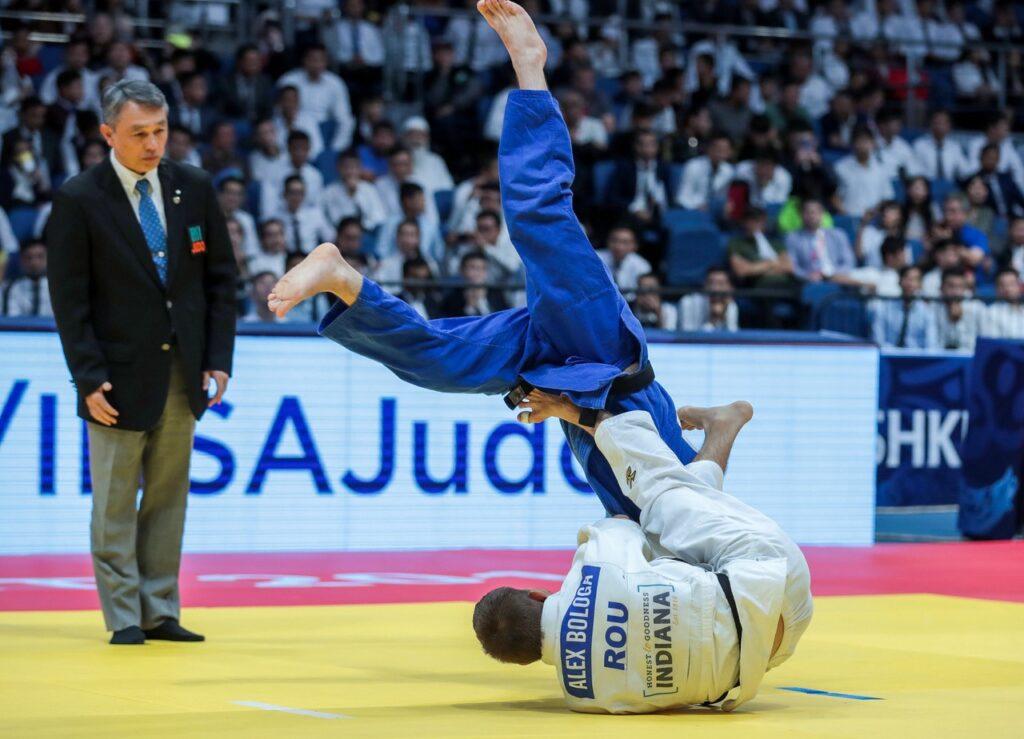 Back in Baku: Judoka Bologa aces return