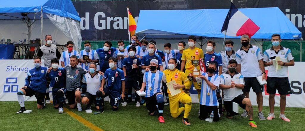 Argentina take blind football World Grand Prix crown