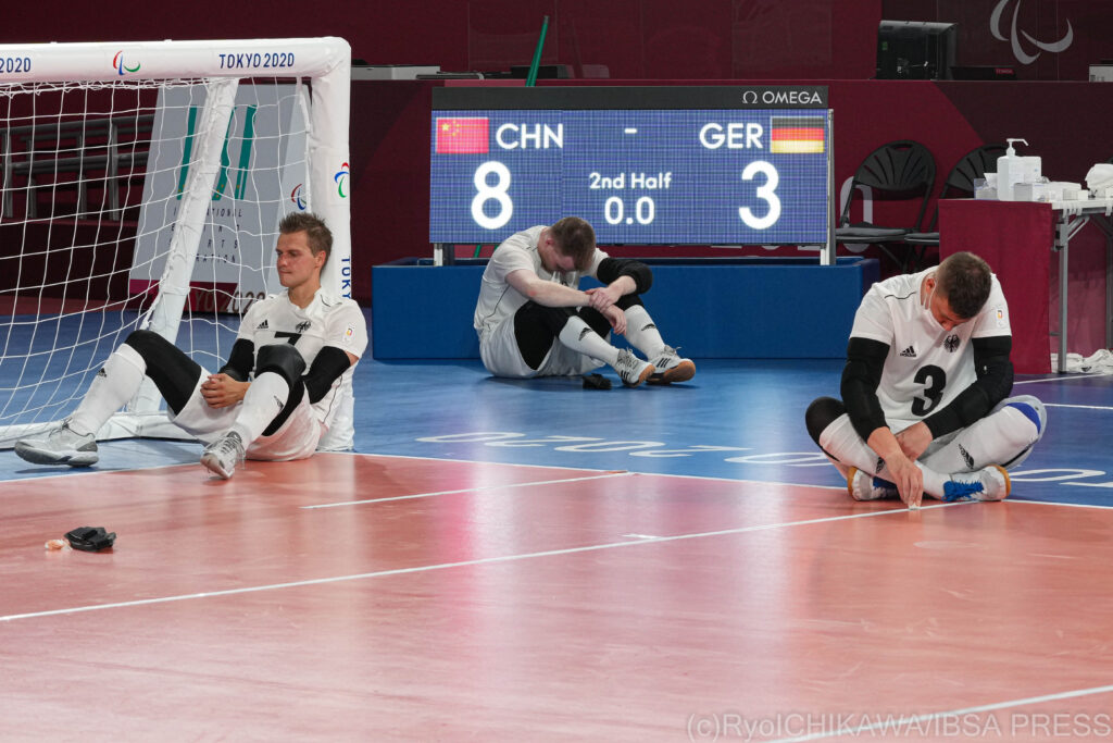 Drama unfolds on final day of goalball group play