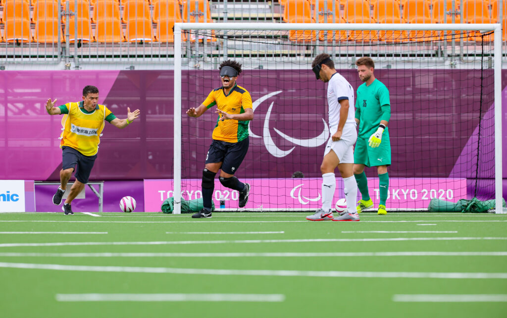 #Tokyo2020: Jardiel reflects on golden blind football debut