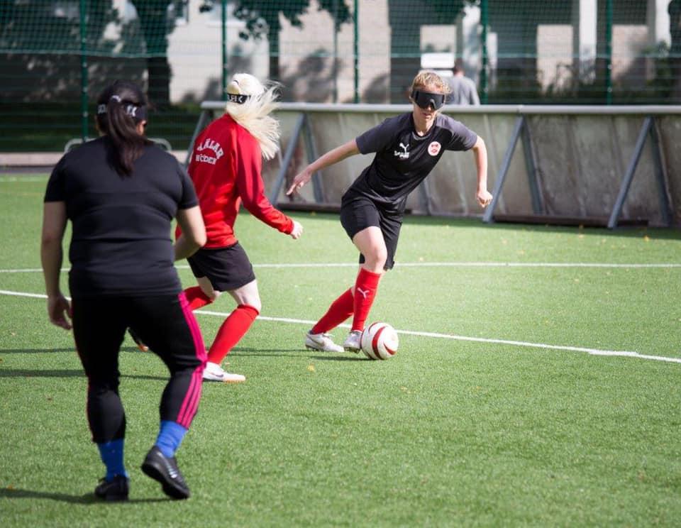 Women's blind football - Wetterstrom on Sweden's game