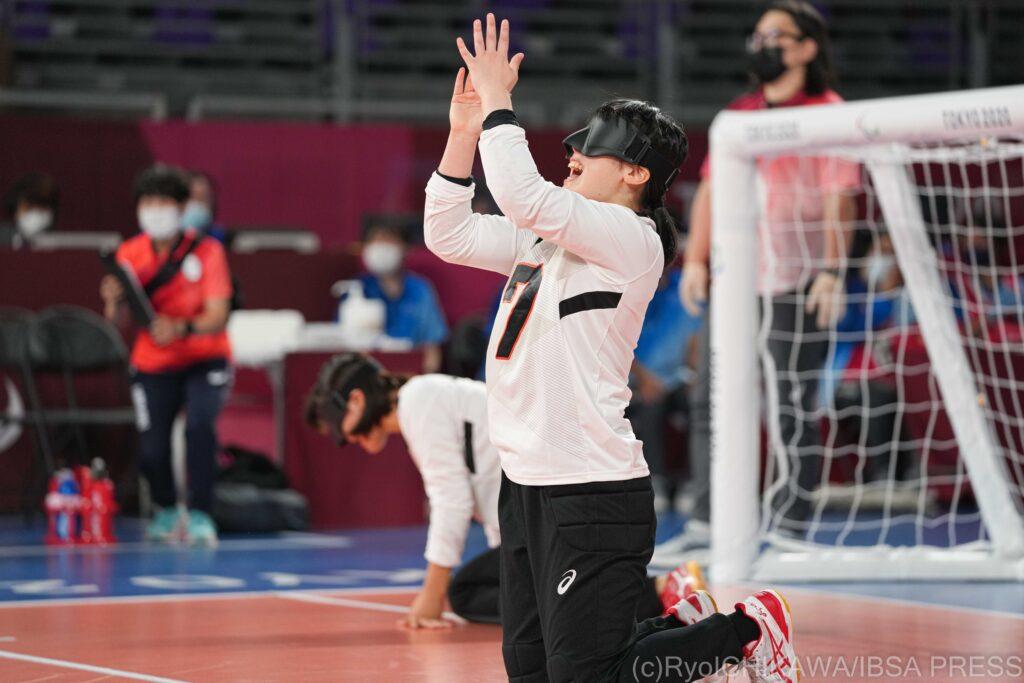 Japan goalball claim semi-final place at Tokyo 2020
